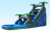 Guangzhou barry factory inflatables 22ft dual lane tropical water slide