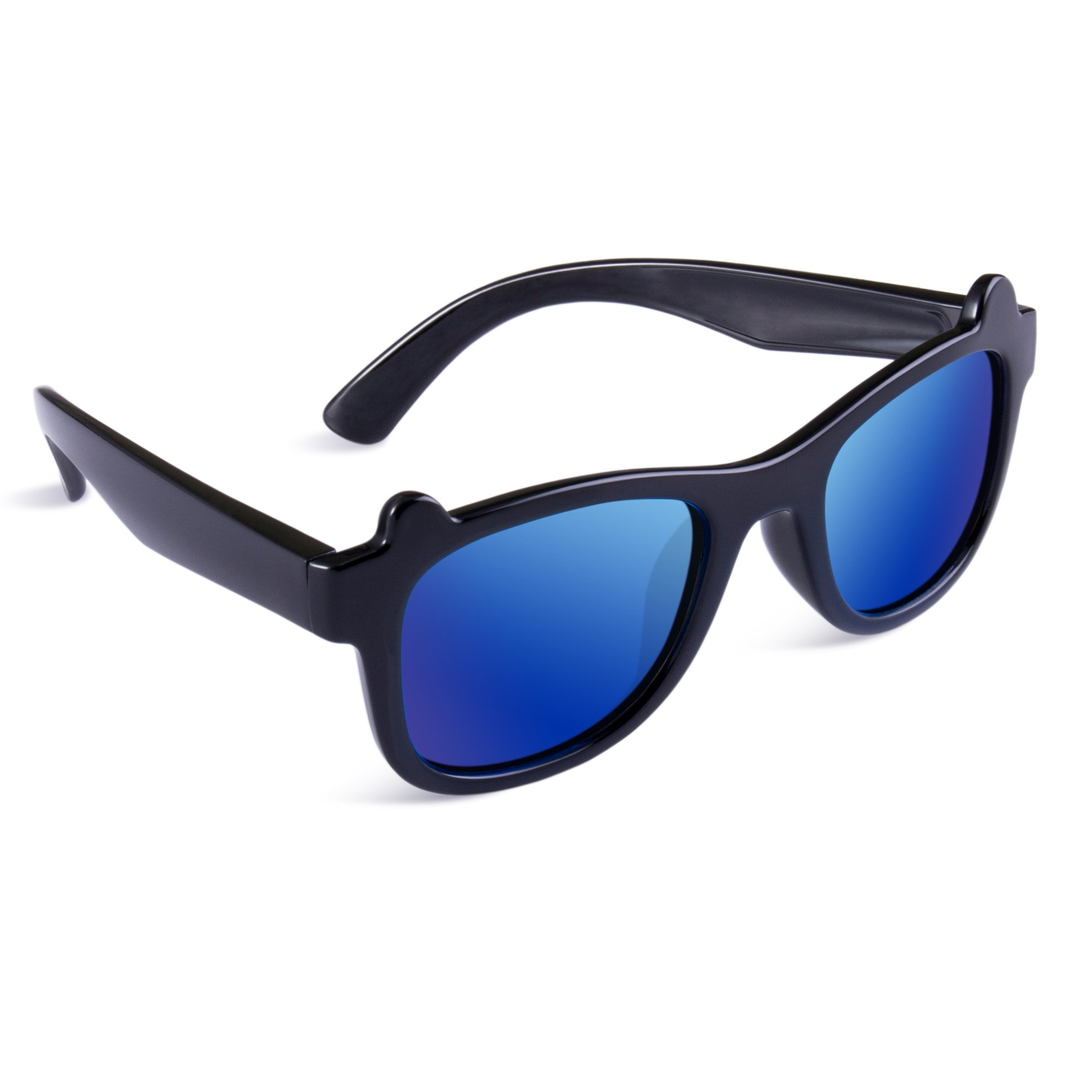 a7cfa4cb494 Get Quotations · SEEKWAY Polarized Kids Sunglasses For Boys Girls Child  Rubber Flexible frame Age 3+ SRK8132