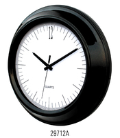 quartz analog wall clock,made of metal,quartz metal clock