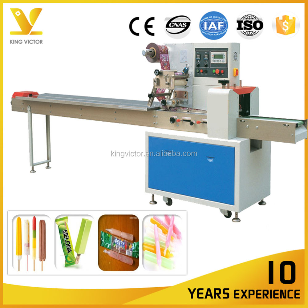 304SUS automatic pillow freezy popsicle packing machine