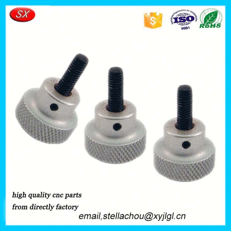 mechanical manufacturing cnc machining aluminum parts factory Knobs Hand Wheels stub assembled knob