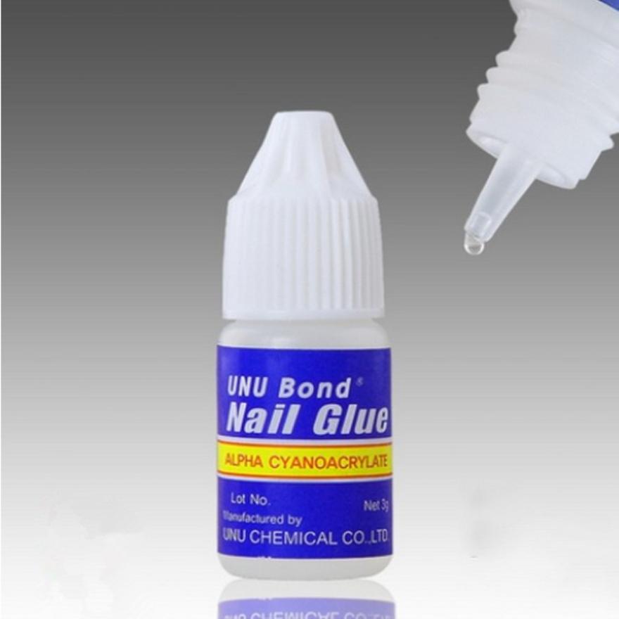 5pcs X 3g Glue Fake Nails Nail Art Uv Gel Acrylic False Nails Glue Manicure Art Tips Stick Tool