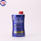 Slim Waist Shape Lubricant Engine Oil Container Metal Tin Cans with Lid