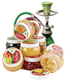 2015 Decloud wholesale hookah shisha with Arabic culture lovers-two apples