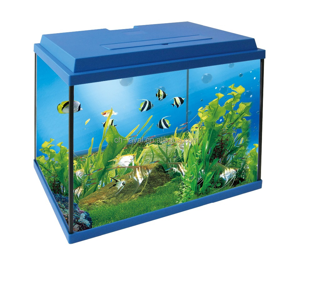 New Design 30l Glass Aquarium Fish Tank Fish Aquarium Starter Kit ...