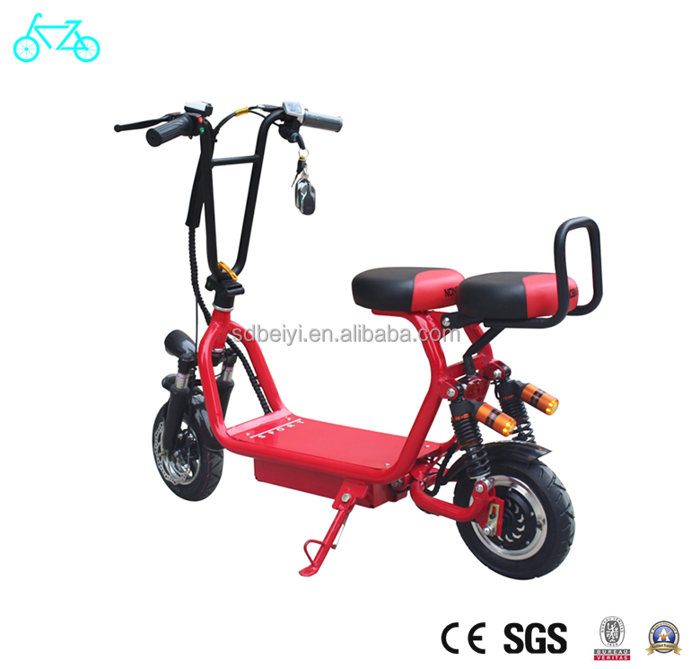 2018 new 250W/350W/500W small wheel portable citycoco electric scooter