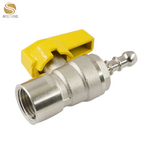 TOPFLOW female thread pex connect brass gas ball valve