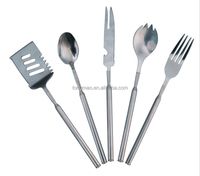 Telescopic A complete set of western tableware