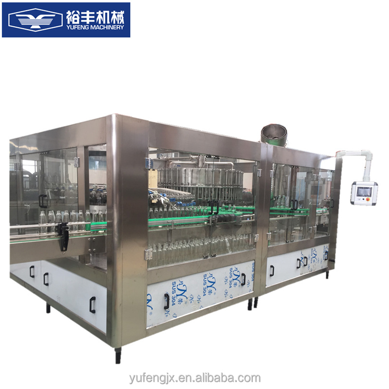 RIO bottle Alcohol washing / filling / capping equipment