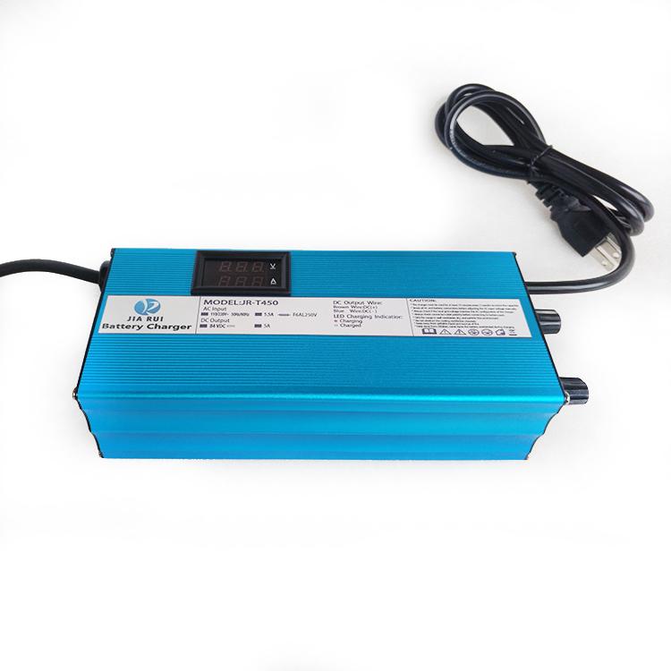 2019 New product wholesale adjustable battery charger 12v 24v 36v 48v 60v CE CB KC, Blue;black;silver
