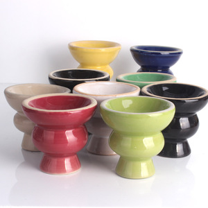 Shisha wholesale complete set Pot fittings clay ceramic tobacco hookah bowl
