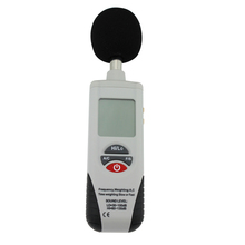 30-130dB LCD Digital Sound Level Decibel Meter Noise Monitor Pressure Tester Auto Backlight Display Durable