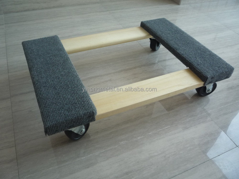 TC4304 Wooden moving dolly furniture mover dolly