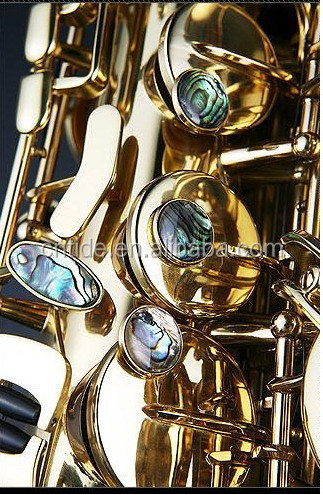 Professional Eb Germany imported copper unlacquered alto saxophone R54 type