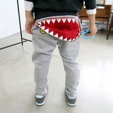 Hot Baby Kids Boys Girls Zipper Design Casual Harem Pants Toddler Loose Trousers