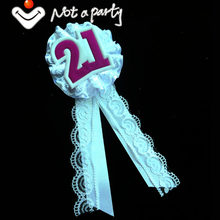 Вечерние эмблема на ткани, кружевная лента, украшение для свадьбы, мероприятий, круглая кнопка в форме сердца, детский душ, мама, день рожден...(Китай)