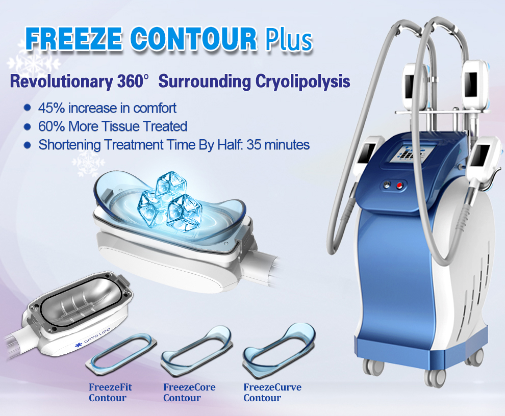 CE 承認 cryolipolysi スリム減量機プロ脂肪冷凍機