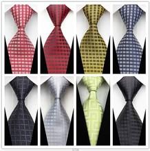 Moderná pánska kravata s jemným vzorom z Aliexpress