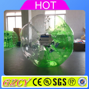Inflatable zorb ball bubble ball toys for kids latest craze
