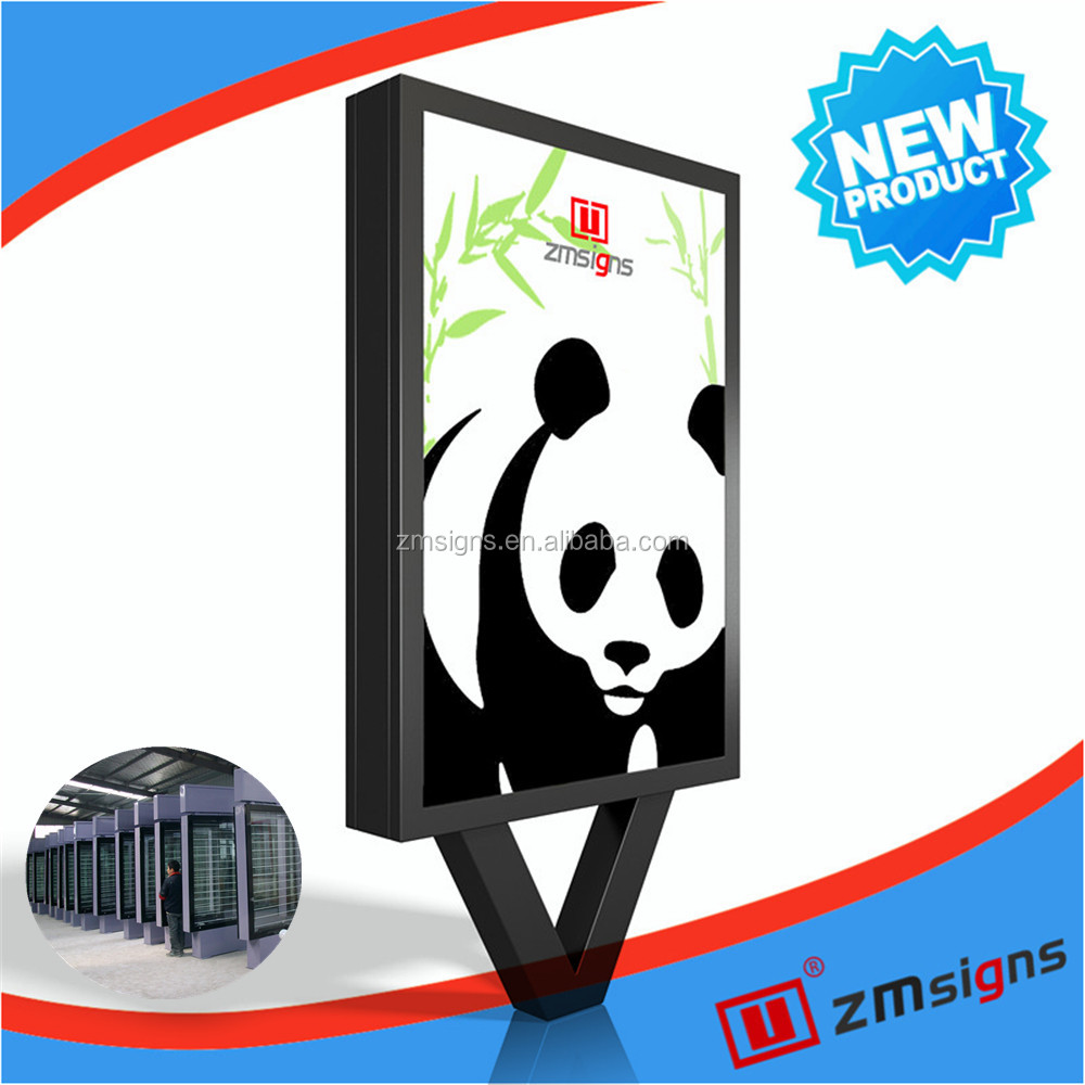 ZM-102 alibaba express in electronics pylon sign for gas station with good price