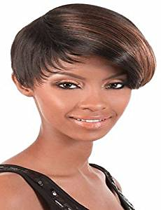 Wigs have an attractive convenience fashion Fashion Mix Color Short Straight Woman's Synthetic Wigs Hair