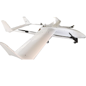 DE Fixed wing UAV VTOL Drone for aerial Surveillance Mapping with 8h flight  time