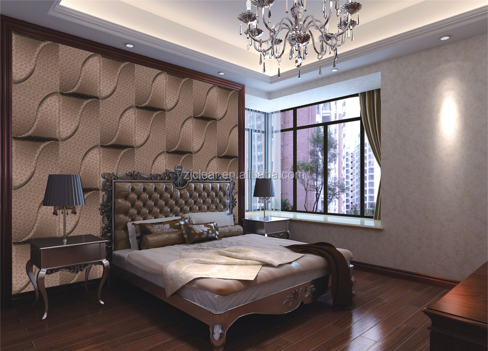Leather 3d Wall Panel Decoration Wall Panel Wall Ceiling ...