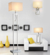 Modern Wireless Floor Lamp With Led Reading Lamp Rope Floor Lamp