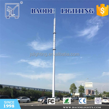 Factory Price Steel Monopole Tower from 15m to 50m on China Market
