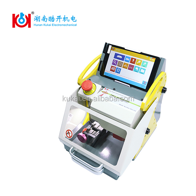 Motorcycle Key Car Key SEC-E9 CE approved computerized car key cutting machine free upgrade and after <strong>service</strong> provided