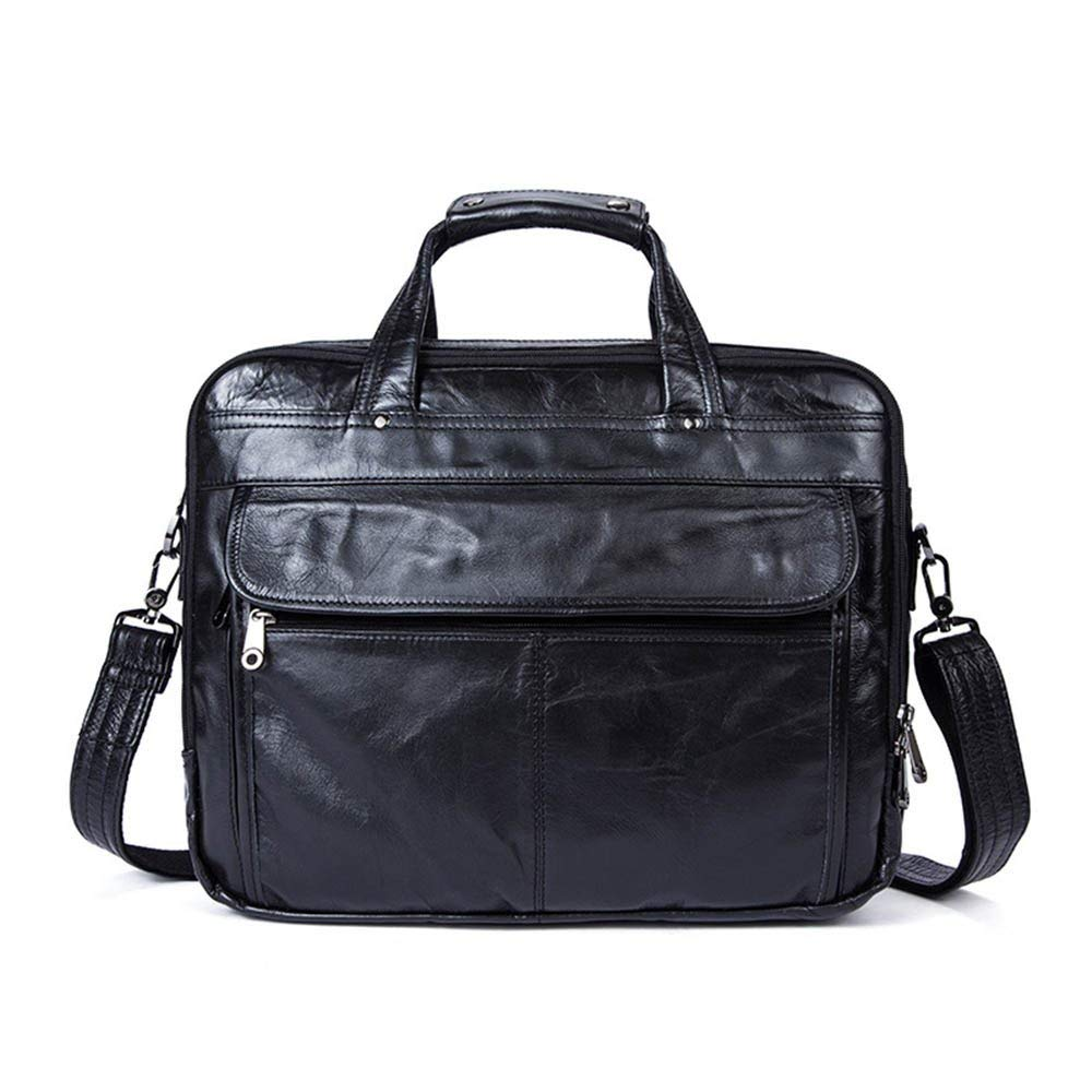 f30a269b99d6 Get Quotations · Amyannie Laptop Messenger Bag Mens Leather Briefcase  Messenger Tote Crossbody Shoulder Satchel Bag 14