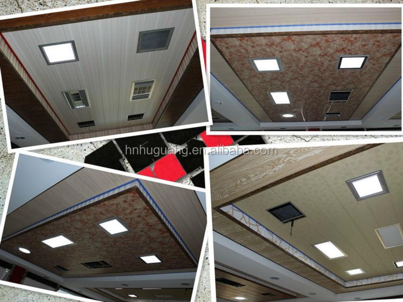 60cm Pvc Panel Waterproof Roof Pvc Panel Ceiling Pvc Plank