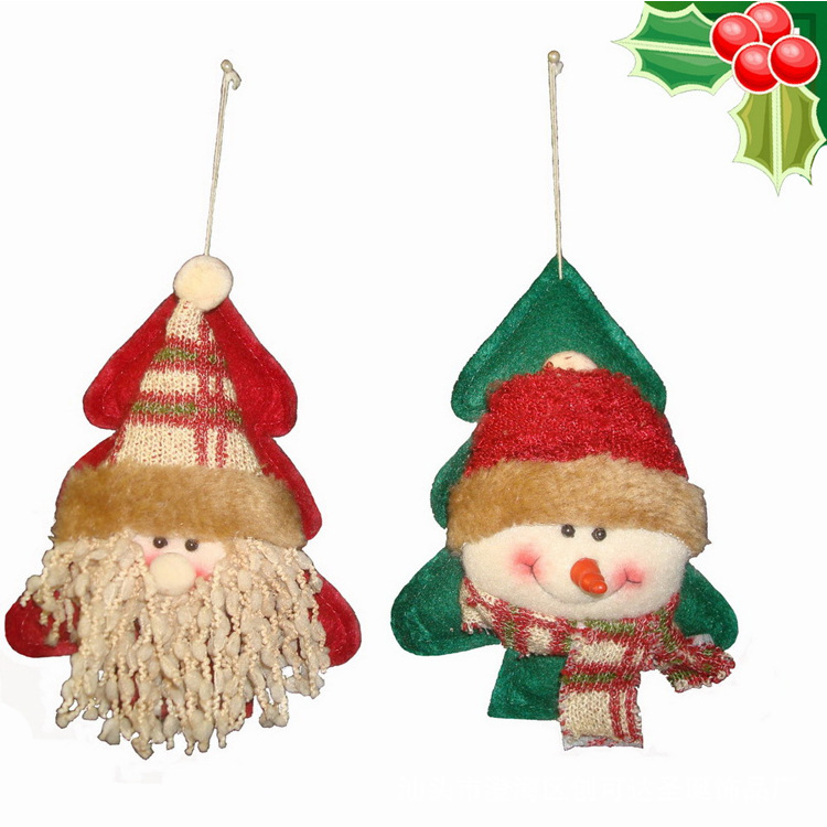 2016 Christmas snowman tree hanging ornaments Snowmen christmas decor Necessary Merry Christmas Decorations for Home