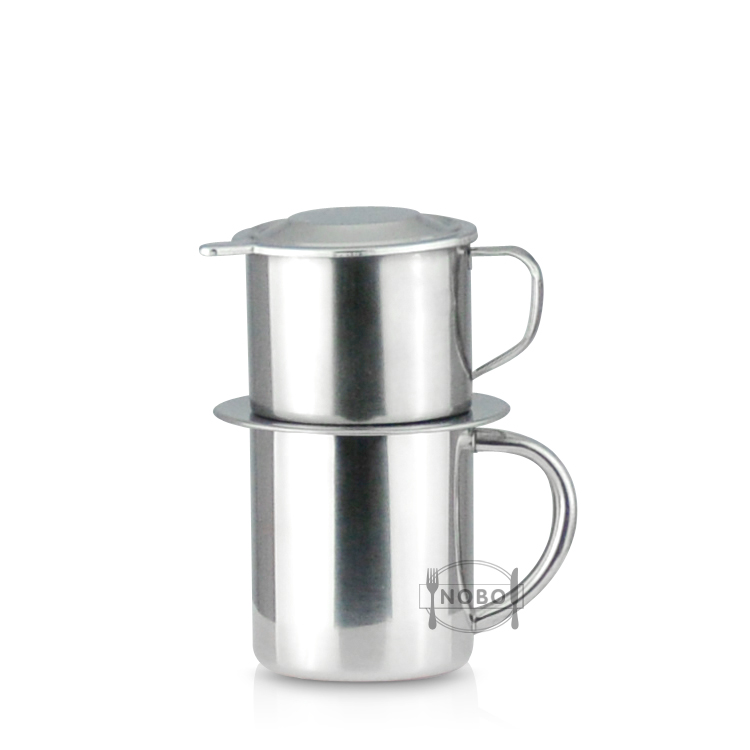 Hot Sale Customized Coffee Press Brewing Phin Drip Coffee Maker Infuser Cup Stainless Steel Vietnamese Coffee Filter View Coffee Filter Nobo Product Details From Chaozhou Chaoan Caitang Nobo Hardware Factory On Alibaba Com
