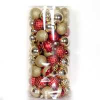 Fashionable Christmas Tree Ornaments Set