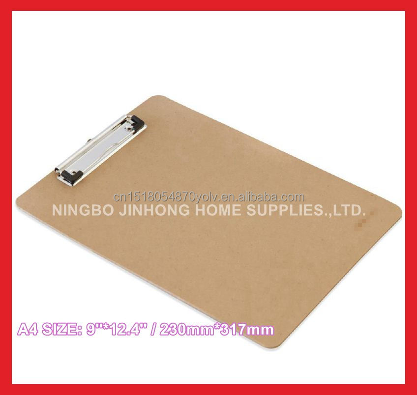 Cb003 Office Clipboard A4 Mdf Paper File Folder With Metal Clip ...