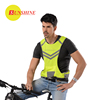 SUNSHINE running high visibility reflective walking zipper vest