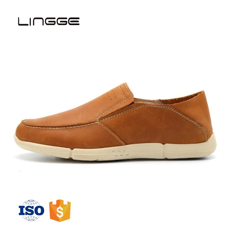 2019 Estilo De Oficina De Vaca De Cuero Genuino Hombres Mocasines Casuales Zapatos Sin Cordones Buy Mocasines Casuales Para Hombres,Zapatos Casuales