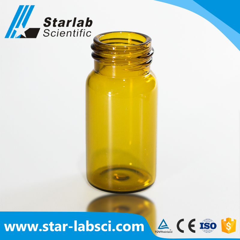 Sample for steroids amber 10ml glass vial