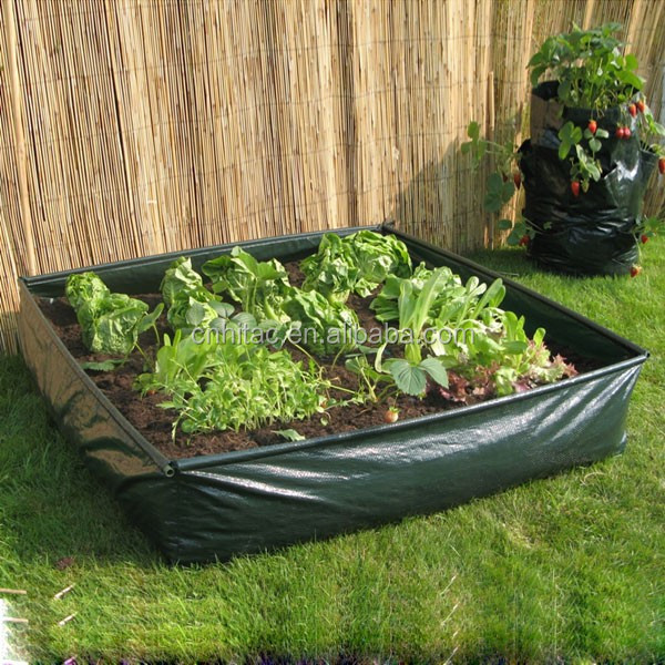 100cm 40cm 22cm Pe Vegetable Grow Bags Recycled Growing Bag Round Vegetables Planter Garden Product