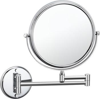 Wall Mounted Magnifying Makeup Mirror.Wall Mounted Magnified Brass Cosmetic Mirror Makeup Mirror In Chrome Buy Wall Mounted Brass Cosmetic Mirror Wall Mounted Magnifying Makeup