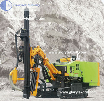 451 Down The Hole Air Compressor Built-in Mine Drilling Machine ...