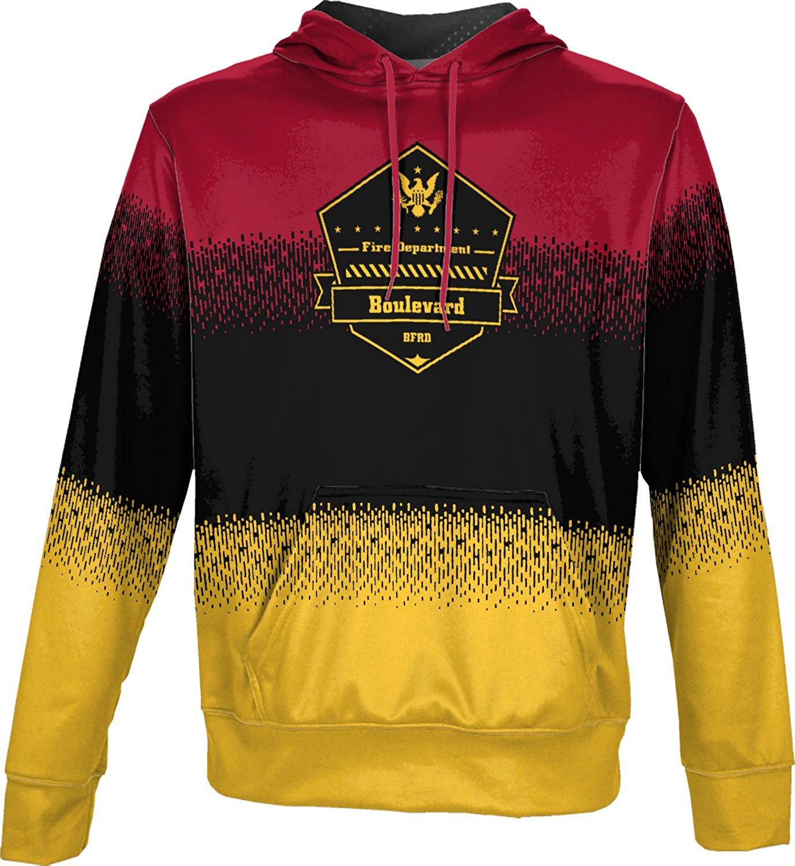 ProSphere Boys' Boulevard Fire and Rescue Department Fire Department Drip Hoodie Sweatshirt