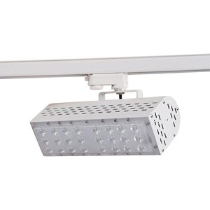 White Led Track Light 30W System 2 Wire 3wire 4wire Rail For Cabinet Display