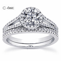 wholesale Popular Best Seller sterling silver 925 princess cut stone engagement ring