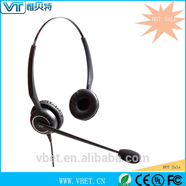 Office noise cancelling earphone with Compatibility with different systems Headset for PC Game / Music and internet phone