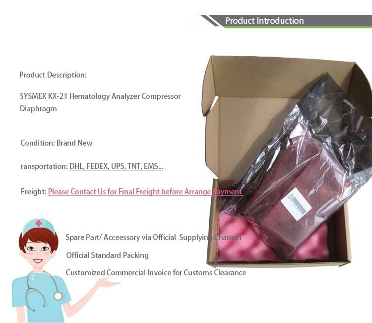SYSMEX KX-21 Hematology Analyzer Compressor Diaphragm