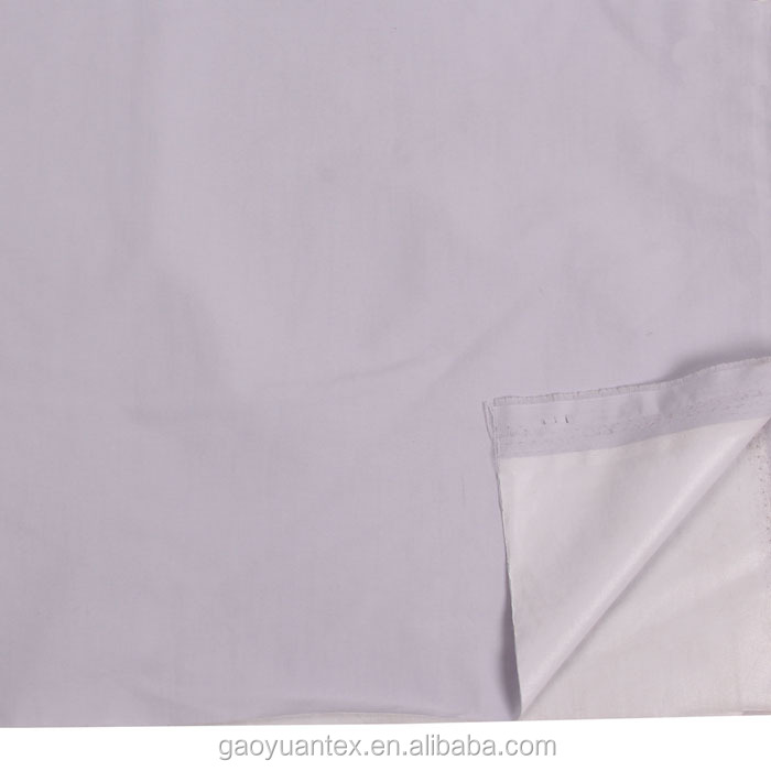 high quality water proof &wind proof fabric bond white tpu membrane fabric/high breathable high wter proof