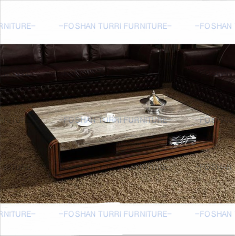 2018 New Design Marble Travertine Top Coffee Table For Sale Buy