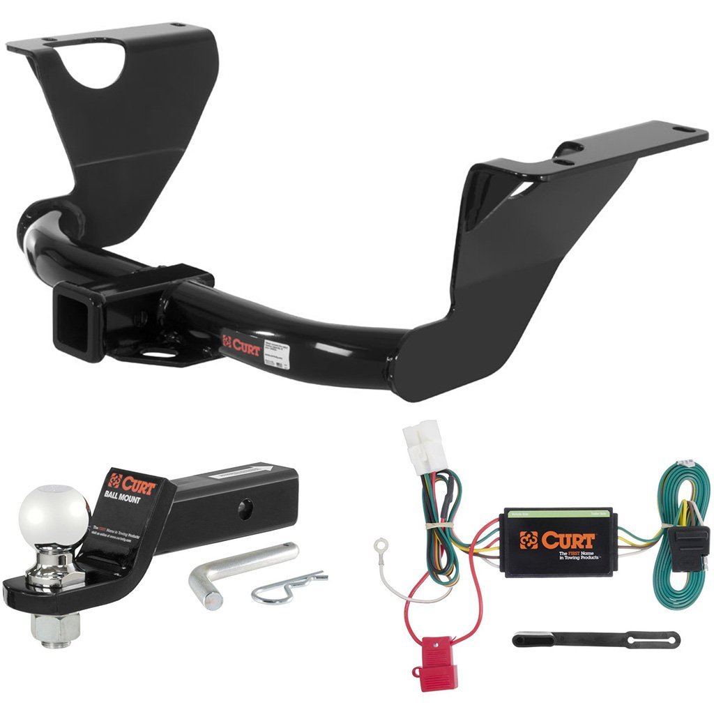 """CURT Class 3 Hitch Tow Package with 2-5/16"""" Ball for 2010-2015 Subaru Outback"""
